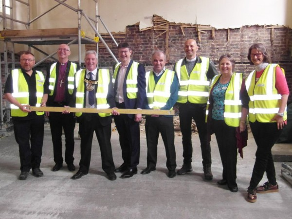 Mayors Visit to Quakers - meeting the whole team